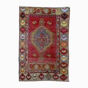 Handgemachter türkischer anatolischer Vintage Teppich, 1920er