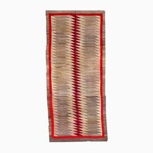 Alfombra Navajo nativo americana antigua hecha a mano