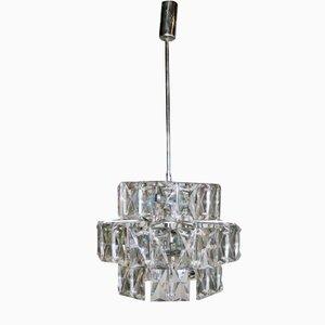 Lámpara de araña en forma de diamante de Kalmar, años 60