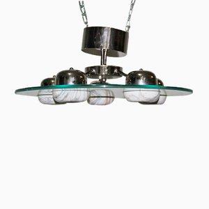 Lámpara platillo volante italiana, años 80