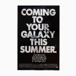 Vintage Star Wars American Advance Mylar Poster, 1977