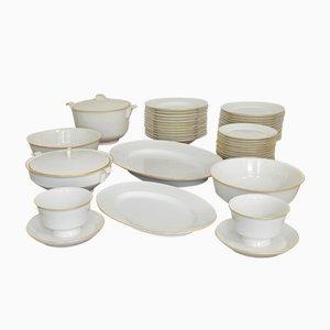Service de Table Halle´sche Form en Porcelaine par Marguerite Friedlaender pour KPM Berlin, 1934