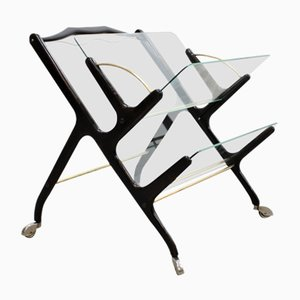Mid-Century Magazine Rack by Cesare Lacca