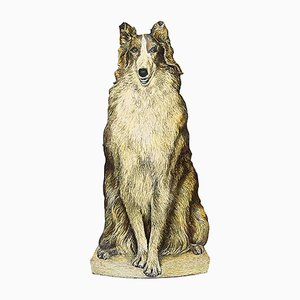 Vintage Umbrella Stand Depicting a Collie by Piero Fornasetti