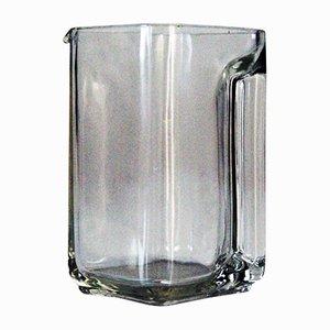 Kubus Glass Pitcher by Wilhelm Wagenfeld, 1940