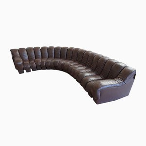 Vintage 18 Piece DS600/ DS 600 Sofa by Berger, Peduzzi-Riva, Ulrich, & Vogt for de Sede