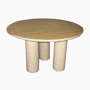 Table de Salle à Manger Vintage en Marbre par Mario Bellini