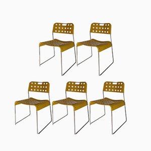 Vintage Omkstak Stühle von Rodney Kinsman, 5er Set