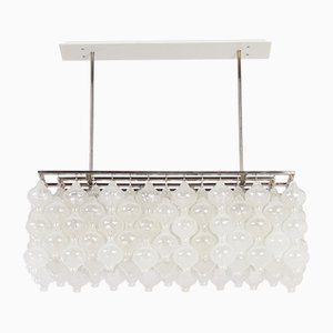 Tulipan Pendant Lamp with 162 Glass Elements from Kalmar, 1970s