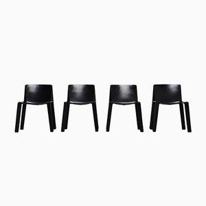 Enneuno Stühle von Piero de Martini & Fois Falconi für C&B Italia, 1970er, 4er Set