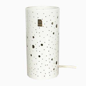 Lampe de Bureau Moderniste Op Art en Céramique par Peter Müller pour Sgrafo Modern, 1960s