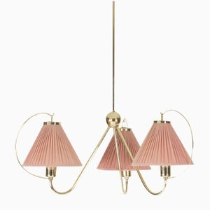 Brass Ceiling Lamp by Josef Frank for Svenskt Tenn, 1950s