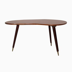 Table Basse Viennoise en Noyer, 1950s