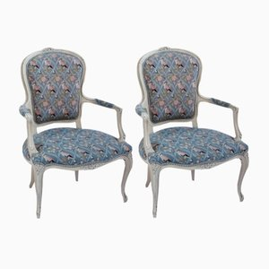 Antique Fauteuils, Set of 2