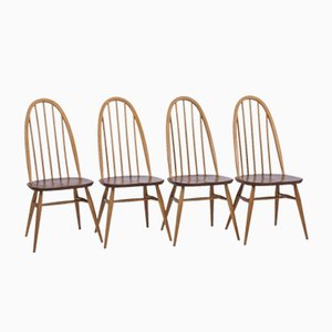 Vintage Dining Chairs from Ercol, Set of 4