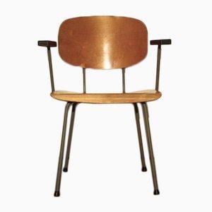 Chaise de Salle à Manger Model 216/1247 par Wim Rietveld pour Gispen