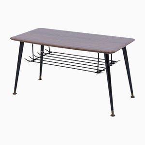 Mesa de centro con patas cónicas, años 60