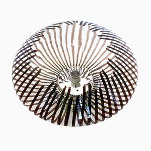 Italienische Tischlampe aus Geblasenem Glas, 1970er