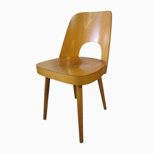 Sedia in compensato di Oswald Haerdtl per Thonet, 1955