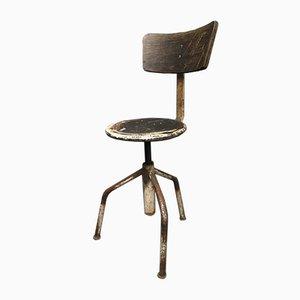 Italienischer Industrieller Vintage Stuhl, 1960er