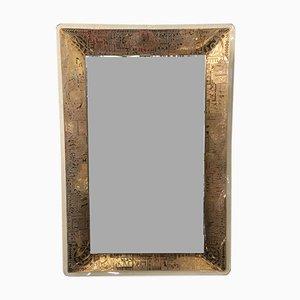 Specchio da specchio vintage di M. Furgieri