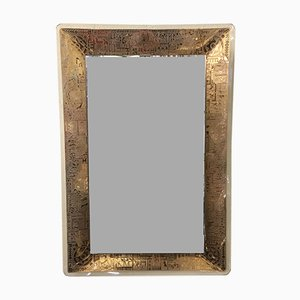 Vintage Wall Mirror by M. Furgieri