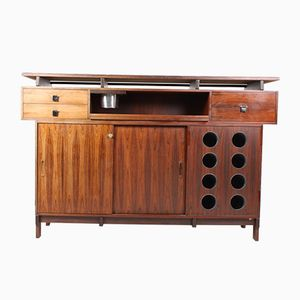 Mid-Century Rosewood Dry Bar Cabinet from Dyrlund