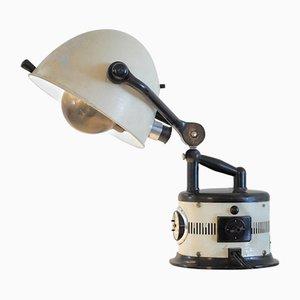 Lámpara solar Reclaimed en blanco, años 40
