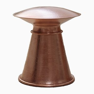 Nomadic Entities Copper Stool by Glimpt for Mesteshukar ButiQ