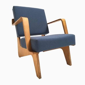 Vintage FB03 Combex Birch Plywood Armchair by Cees Braakman for UMS Pastoe