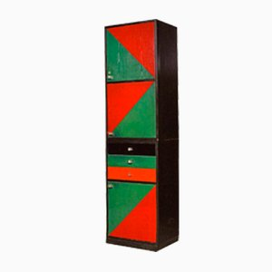 Vintage Geometric Cabinet by Ico Parisi, 1976