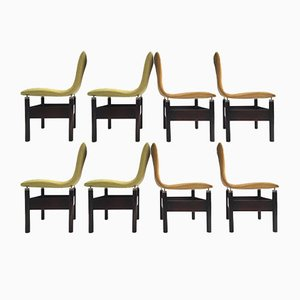 Vintage Chelsea Rosewood Chairs by Vittorio Introini for Saporiti, Set of 8