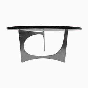 Tavolo scultoreo di Knut Hesterberg per Bacher, 1971