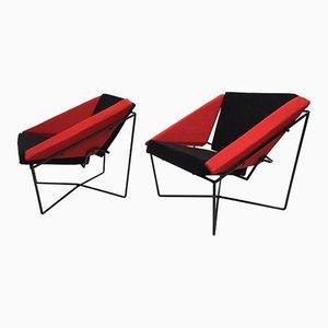 Niederländische Van Speyk Stühle von Rob Eckhardt, 1980er, 2er Set