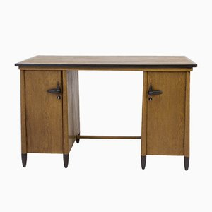 Art Deco Amsterdam School Ladies Desk by Willem Penaat for Metz & Co, 1920s