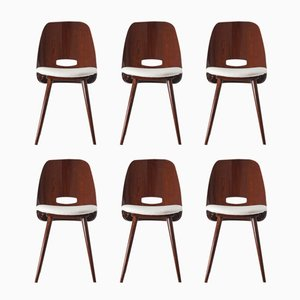 Dining Chairs by František Jirák for Tatra, 1963, Set of 6