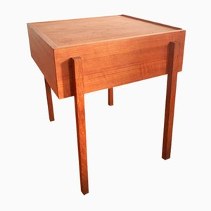 Mid-Century Scandinavian Teak Work Table, 1960s