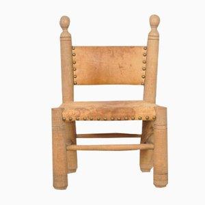 Chaise d'Enfant Louisiana Vintage avec Dossier à Barreaux