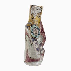 Große Skulpturale Vase von Elio Schiavon, 1960er