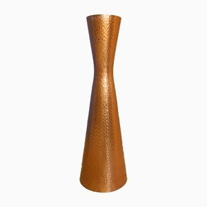 Mid-Century Form 2000 Vase aus Kupfer von Wall