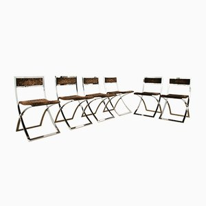 Mid-Century Luisa Folding Chairs by Marcello Cuneo, Set of 6