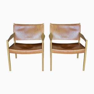 Mid-Century Premiär Easy Chairs by Per Olof Scotte for Ikea, 1950s, Set of 2