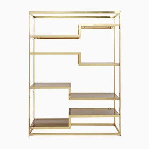Golden Etagere from Belgochrom, 1980s