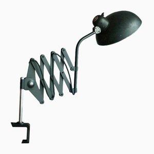 Lampe Scissor avec Pince de Christian Dell pour Helo, 1930s