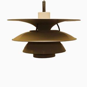 Lámpara colgante PH 6 1/2 - 6 Charlottenborg danesa vintage de Louis Poulsen, años 70