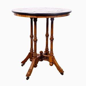 Mesa de centro de mármol, década de 1860