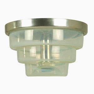 Lámpara de montaje Mid-Century de cristal de Murano de Carlo Nason para Mazzega, años 60