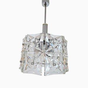 Lámpara colgante alemana vintage geométrica de Kinkeldey, años 60