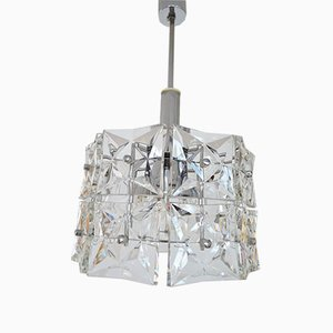 Vintage German Geometric Pendant Lamp from Kinkeldey, 1960s