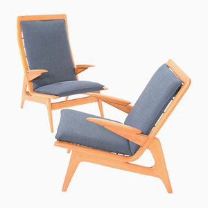 Vintage Easy Chairs from De Ster Gelderland, 1960s, Set of 2